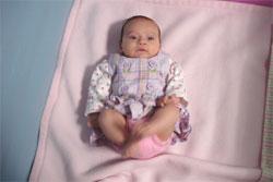Ребенку второй месяц развитие