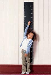 Рост и вес ребёнка с 1 до 3 лет