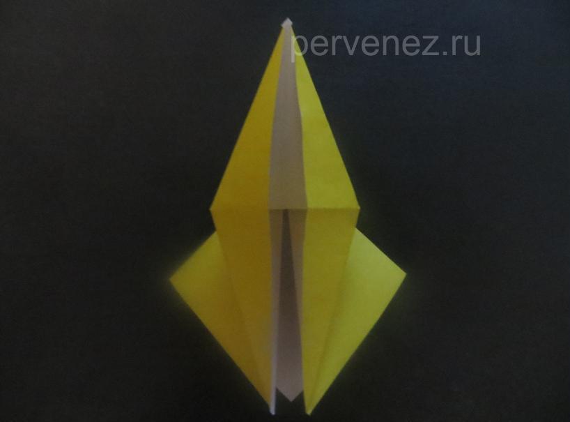 Как сделать японского журавлика оригами фото 234
